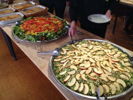 Saláták minden mennyiségben