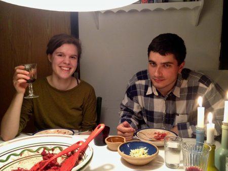 Akik Aarhusban megvendégeltek: Anna és Milán