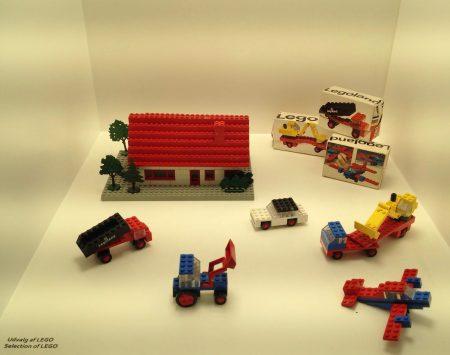 Régi LEGO szettek, a Design Museum Denmark-ban
