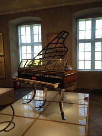 Művész zongora a Design Museum Denmark-ban