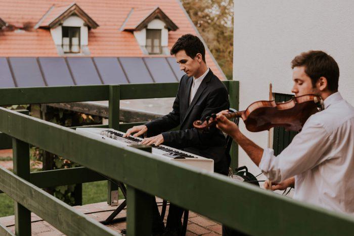 esküvői zene zongora és hegedű